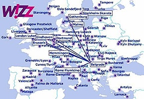 Wizzair flights to Belgrade for inflatable penile prosthesis surgery